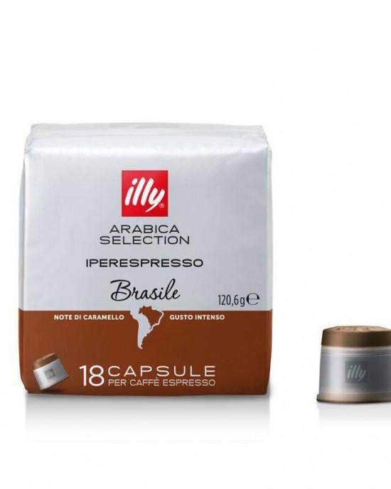 illy iperEspresso Arabica Selection Бразилия – 18 капсули
