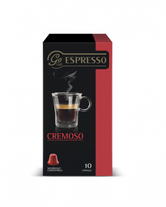GO CAFFE  CREMOSO NESPRESSO