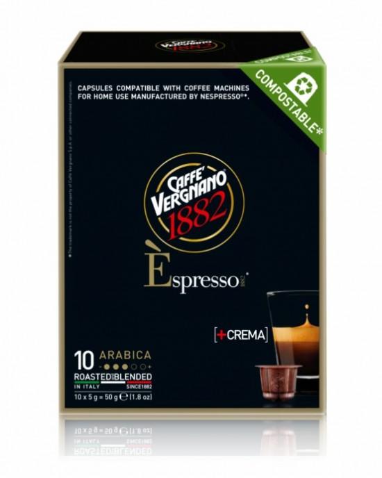 Caffe Vergnano 1882 – Arabica/ Nespresso съвместими -10бр