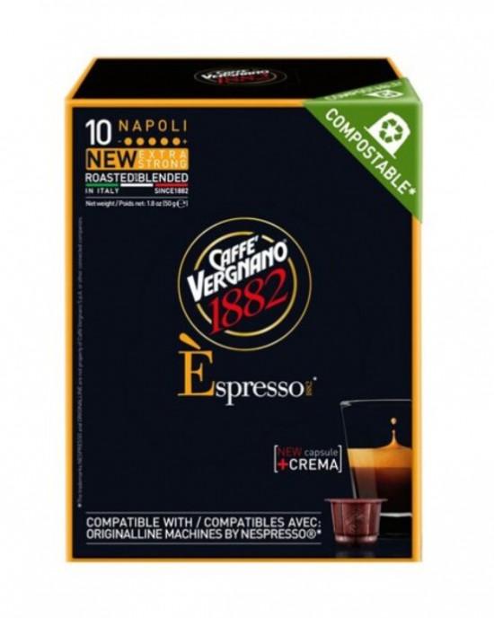Caffe Vergnano 1882 – Napoli /Nespresso съвместими