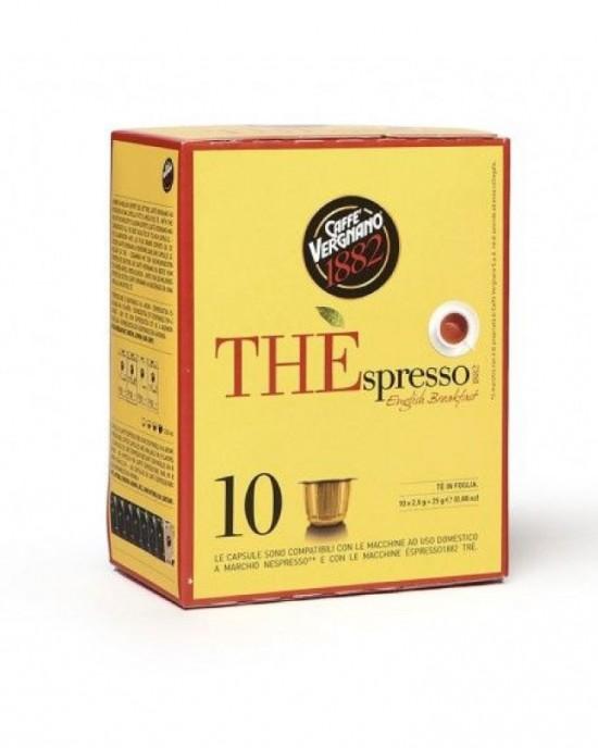 Caffe Vergnano 1882 – Черен чай English Breakfast -10бр