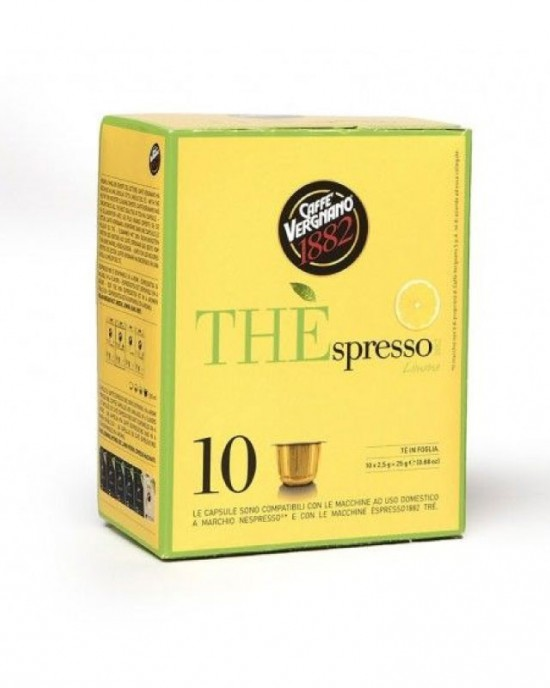 Caffe Vergnano 1882 – Чай Лимон -10бр